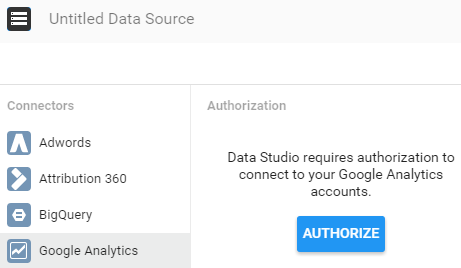 screen grab of how to select your google analytics view
