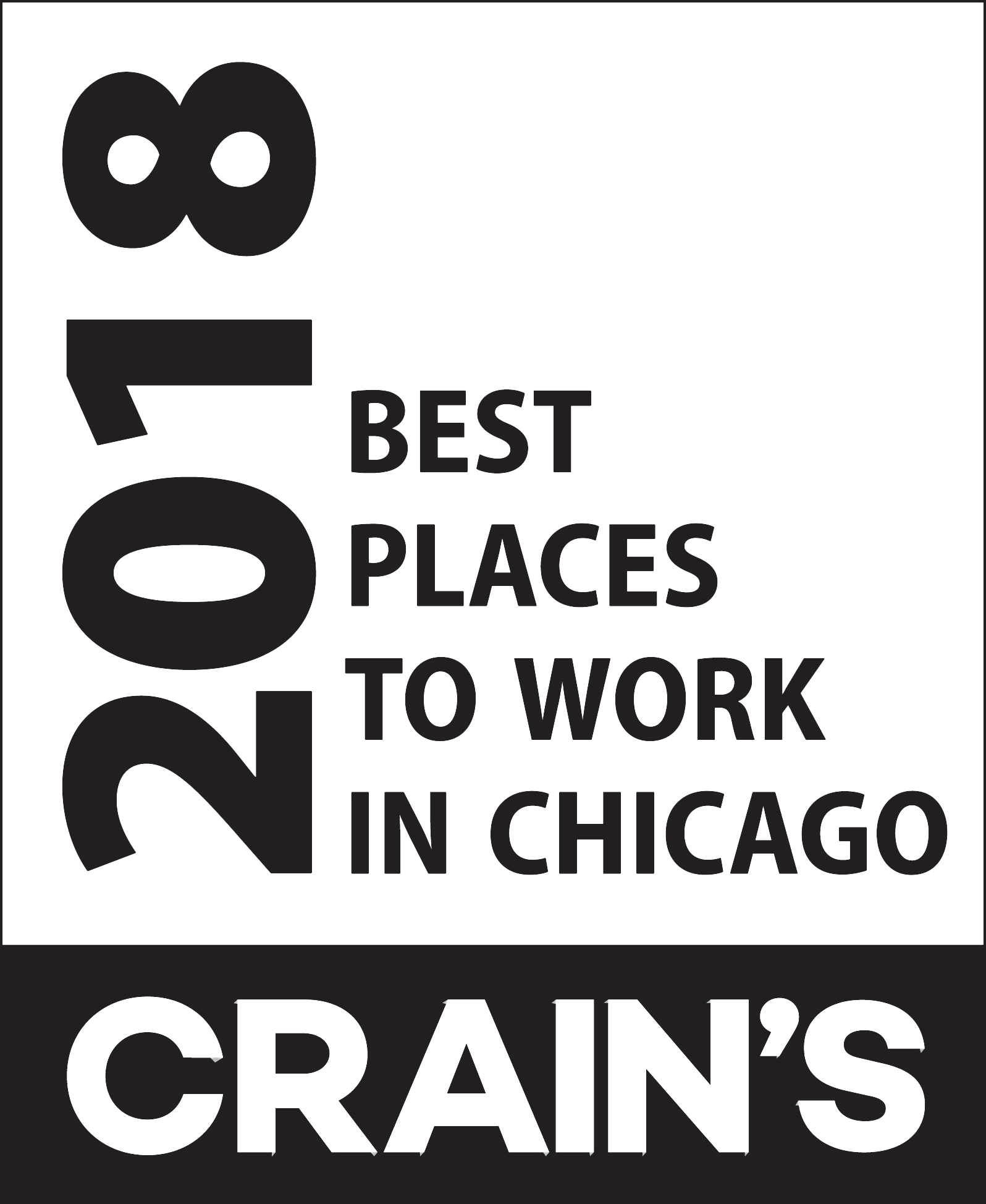 Crain's 2018 Best Places to Work in Chicago logo