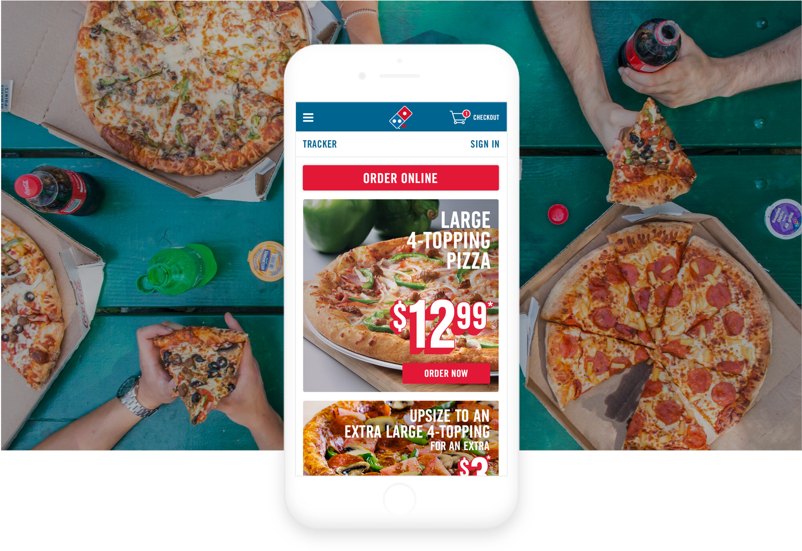 Domino's mobile image