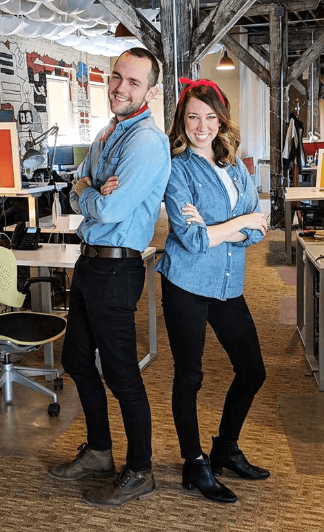 bounteous employees dressed alike