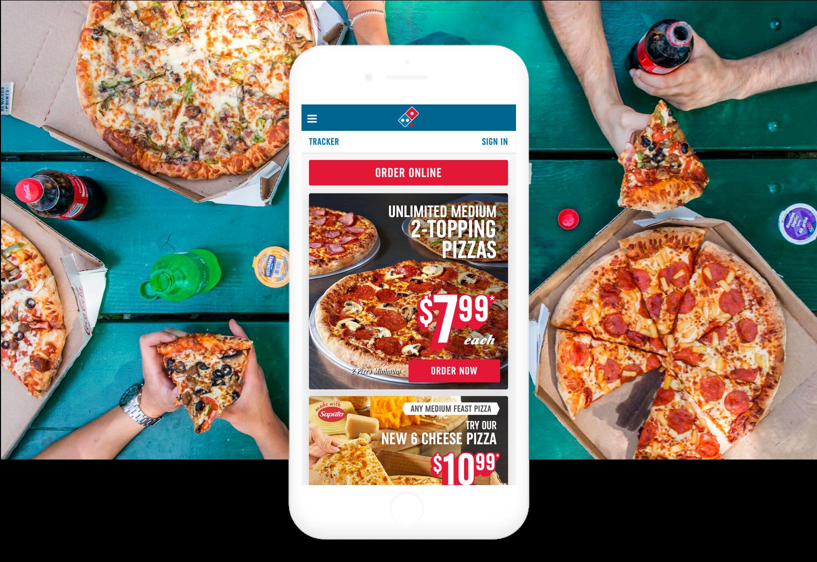 Domino S Pizza Canada Bounteous