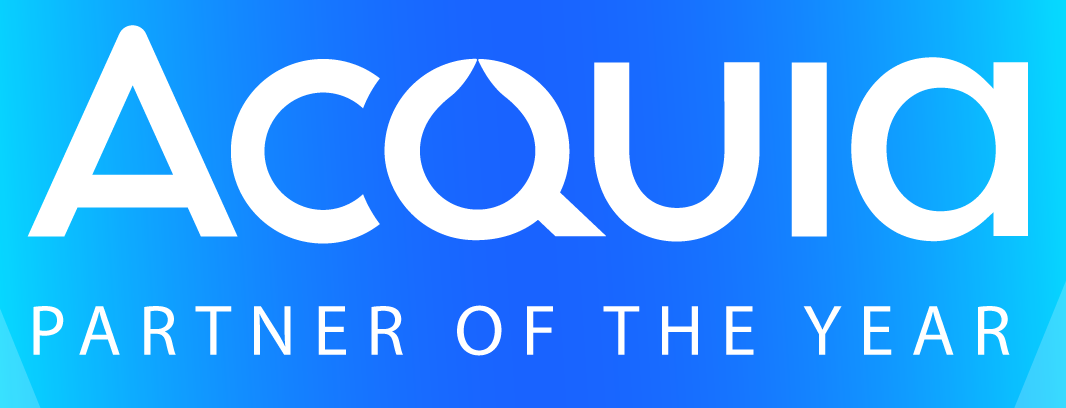 Acquia Partner of the Year logo