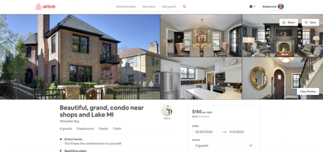 airbnb house overview