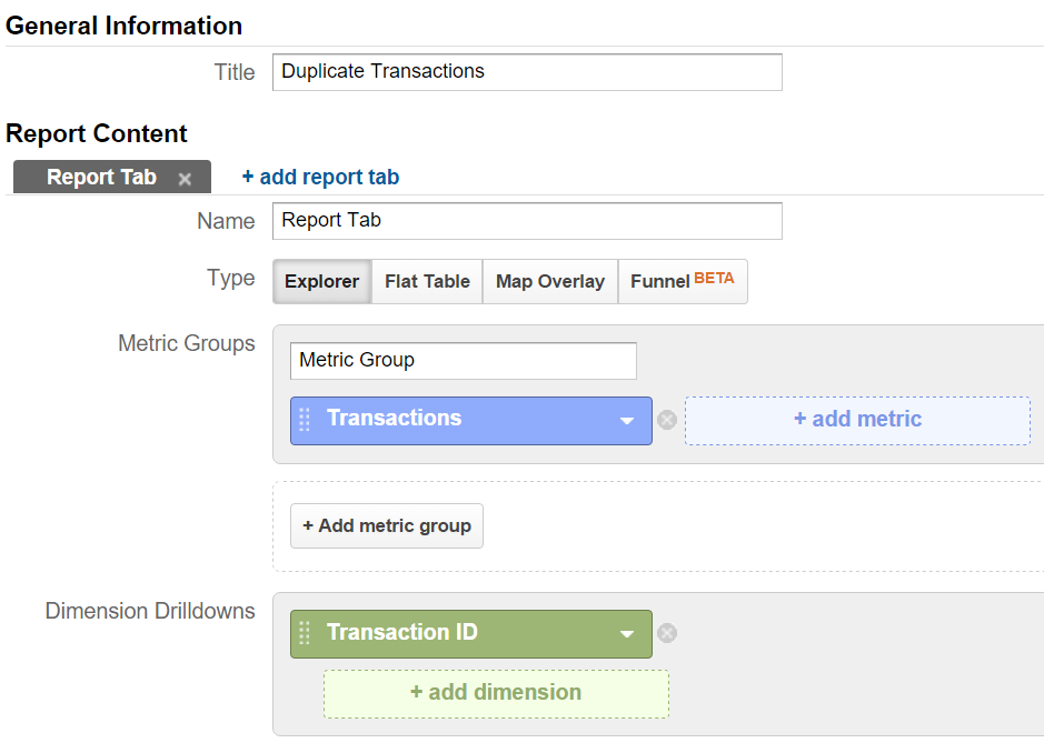Check & Fix Duplicate Transactions in Google Analytics | Bounteous
