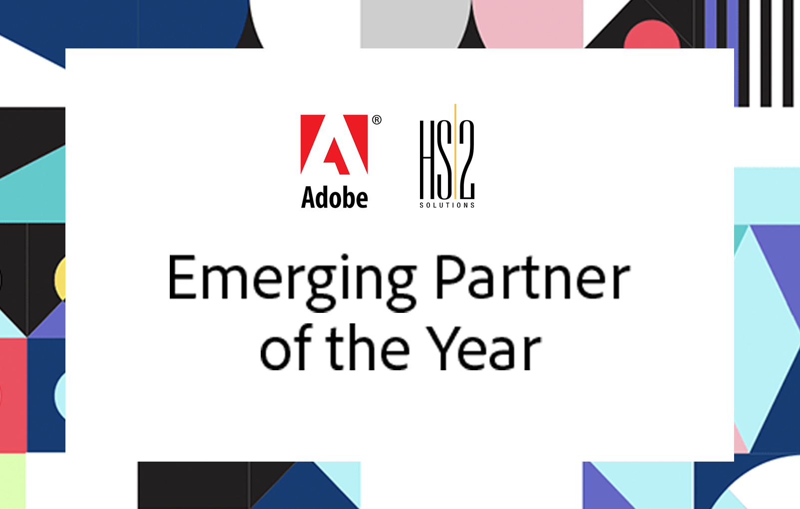 2018 Adobe Emerging Partner of the Year