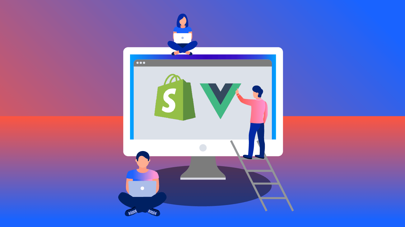 Shopify storefront API and Vue.js blog image