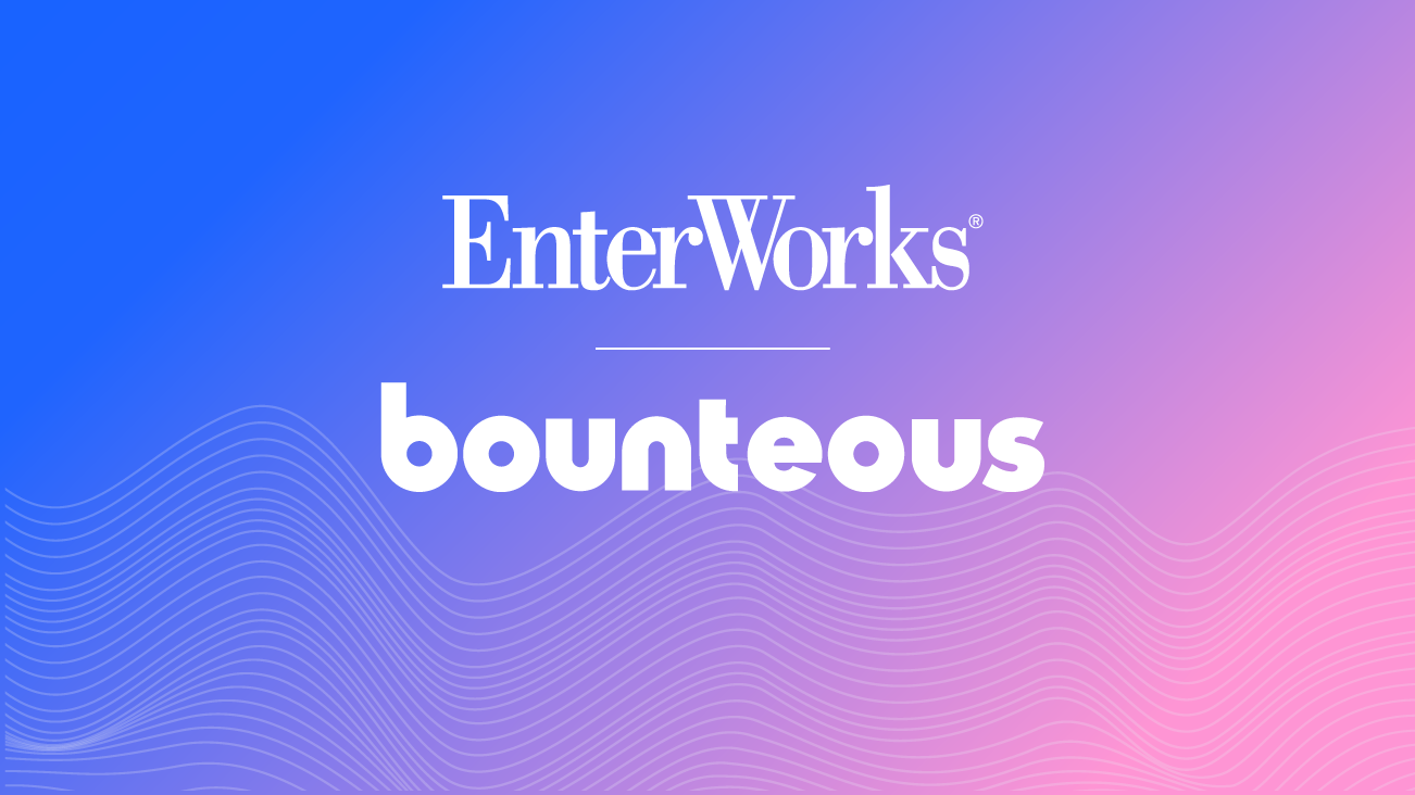 Enterworks and Bounteous partner announcement