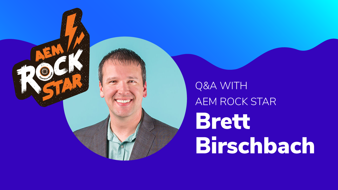 Q&A with AEM Rock Star, Brett Birschbach blog image