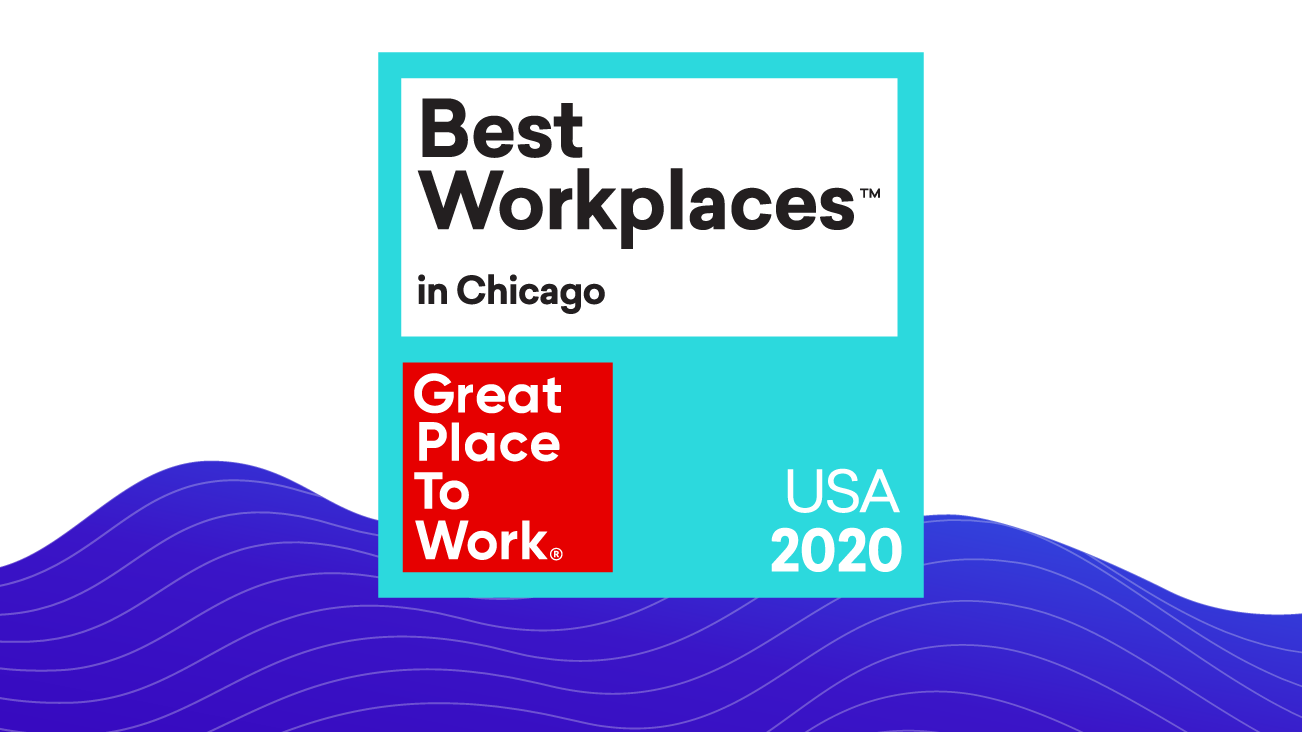 Bounteous Top Two in the 2020 Best Workplaces in Chicago by Fortune & Great Place to Work® blog image