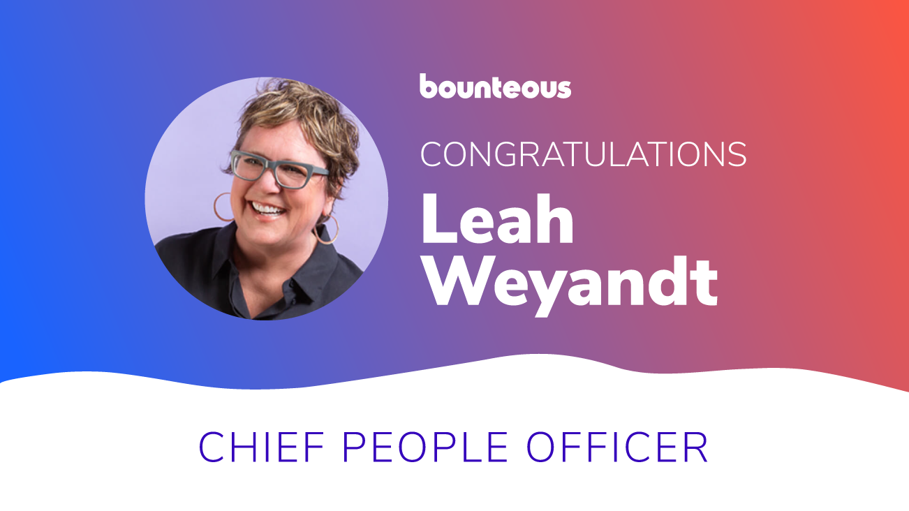Bounteous Appoints Leah Weyandt to  Chief People Officer image