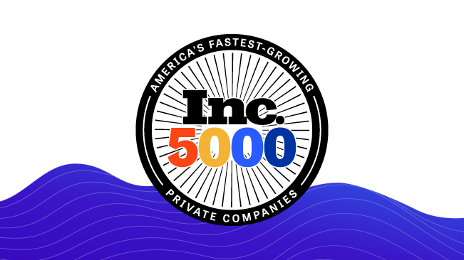 Press Release - Bounteous Named to Inc. 5000 List of America's Most Successful Companies blog image
