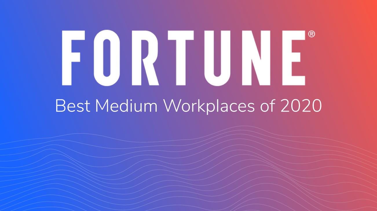 Press release image for Bounteous Listed to 2020 Fortune Best Medium Workplaces™