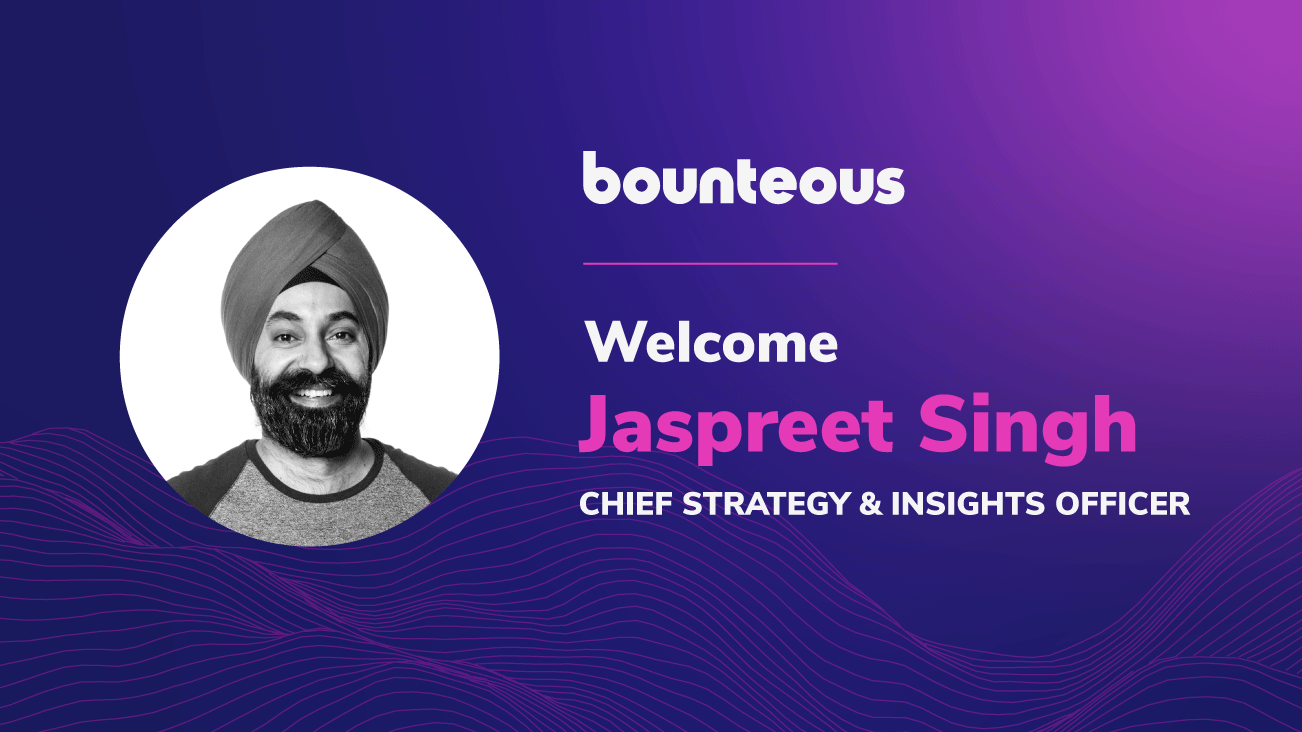 Jaspreet Singh Joins Bounteous Executive Team As Chief Strategy & Insights Officer