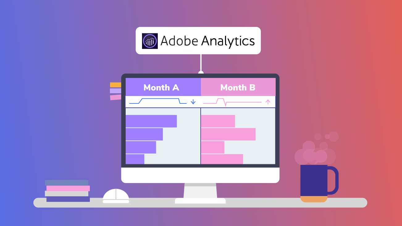 Blog image for Time Comparisons in Adobe Analytics Analysis Workspace