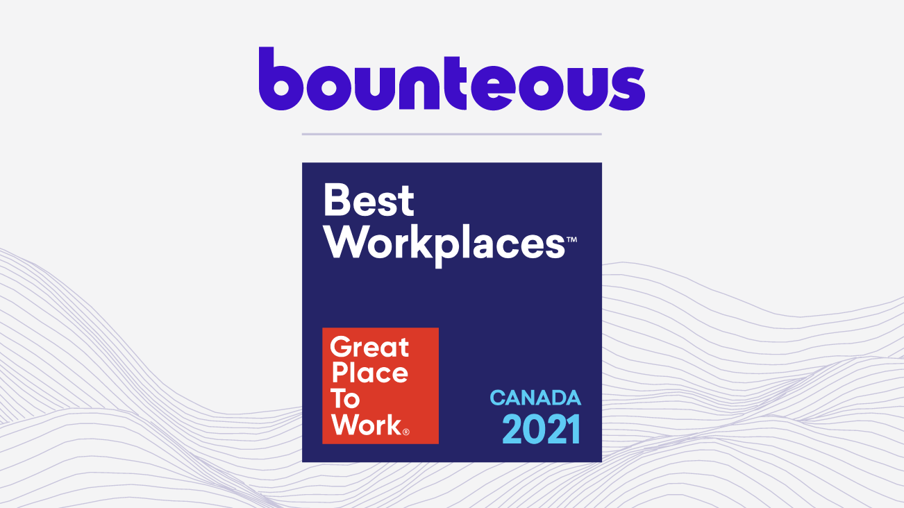 Press Release Image for Bounteous Again Recognized as a Best Workplace™ in Canada