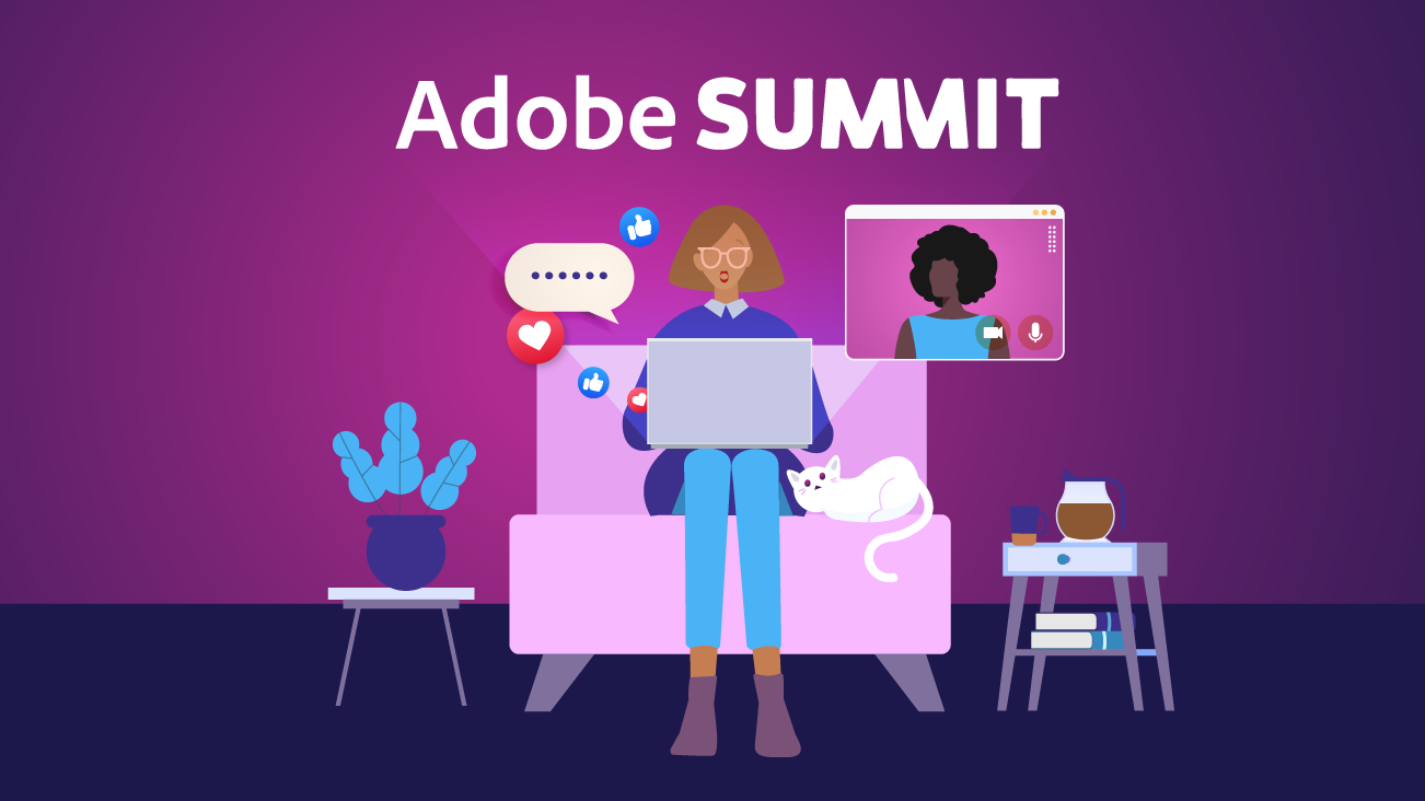 Blog image for Navigating the 2021 Virtual Adobe Summit and All Of Your Digital WTF (What's That For) Moments