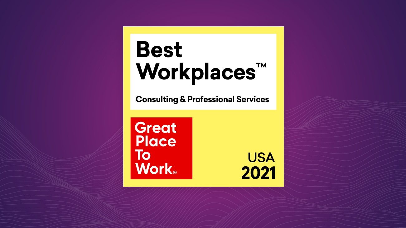 Image for 2021 Best Workplaces in Consulting & Professional Services™