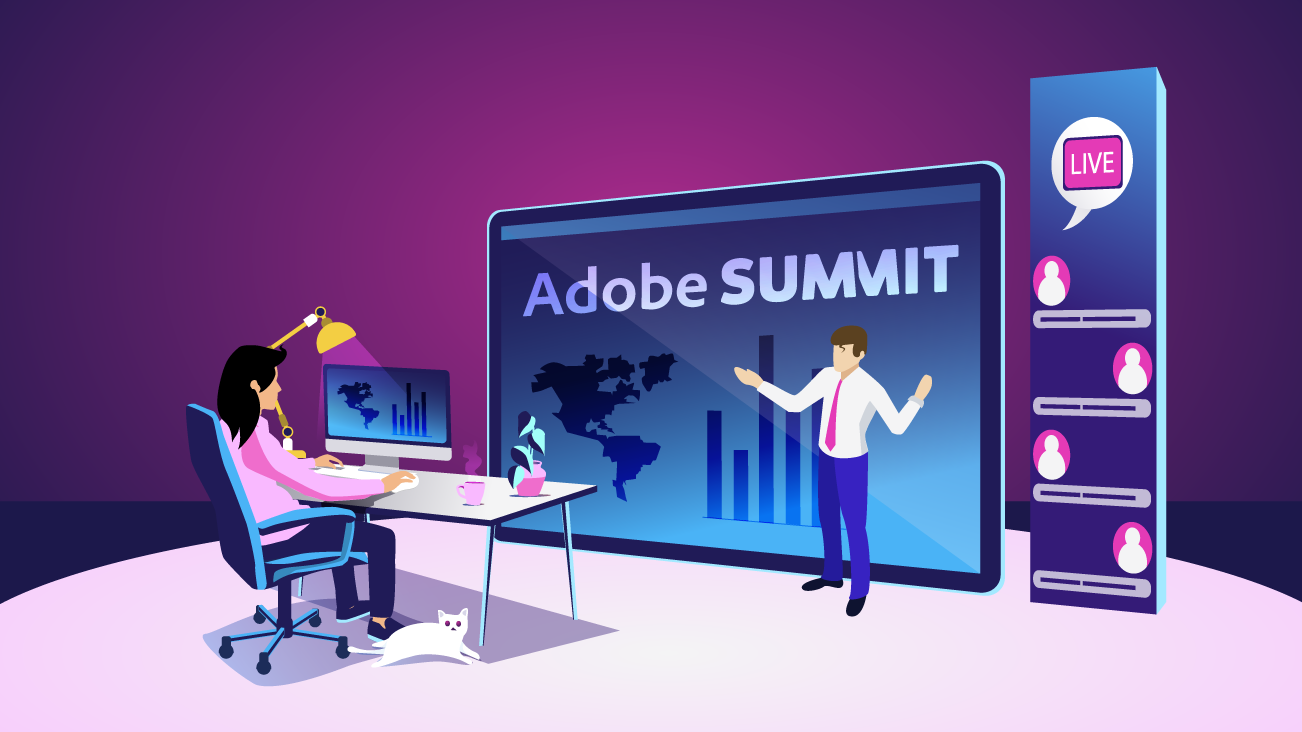 Blog image for 2021 Adobe Summit Review: Five Takeaways for Shaping Digital Experiences Through Data-Driven and Personalized Customer Journeys