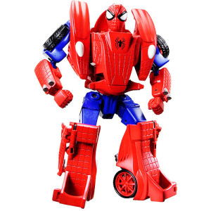 The Spider-Man Transformer is neither a bot, nor a spider, nor a valid representation of my childhood.
