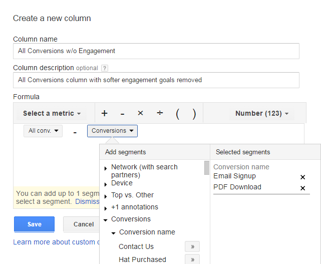 AdWords-Custom-Column