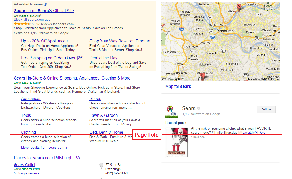 Targeting branded keywords in paid search & SEO allows advertisers to dominated the SERP.