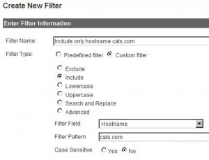 Include hostname filter