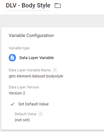 Track Click Details With Data Attributes Google Tag Manager
