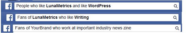 FB graph searches