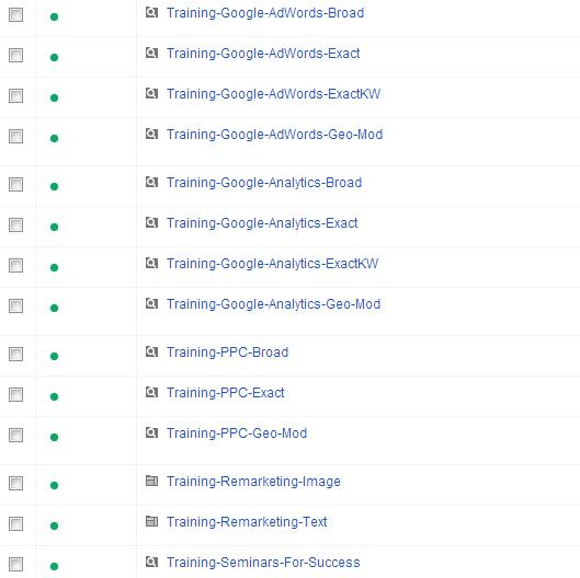 Google AdWords Tricks & Treats - Naming Camapigns