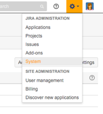 JIRA_Administration_Menu
