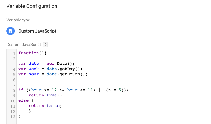 js variable