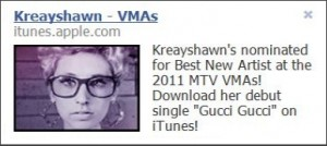 Kreayshawn Facebook Ads
