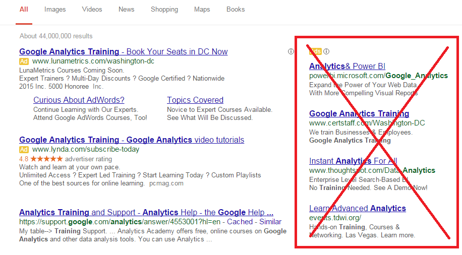 how will google s ad layout change affect me bounteous