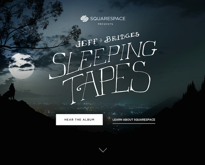 Jeff Bridges Sleeping Tapes Album Art