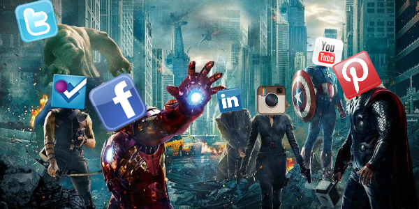 The Avengers as Social Platforms