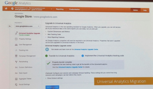 The forthcoming upgrade tool inside the Admin. Credit: Jeffalytics