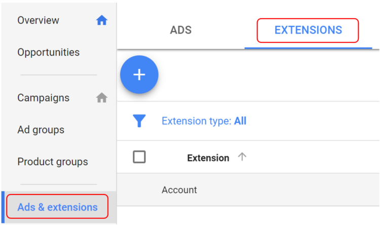 How to Add Ad Extensions