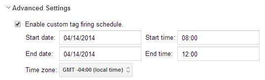 GTM Schedule