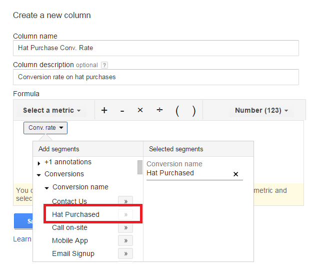 adwords-conversion-rate-columns
