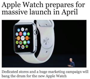 Apple Watch Breaking News