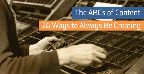 typesetter image - the abcs of content