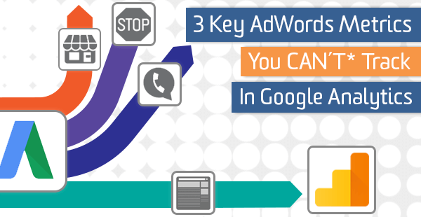 AdWords Metrics Not Available In GA