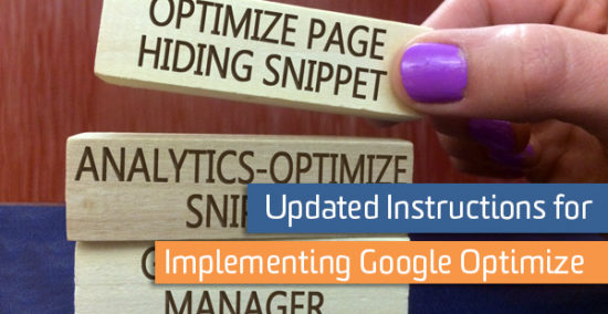 Installing Google Optimize code snippet