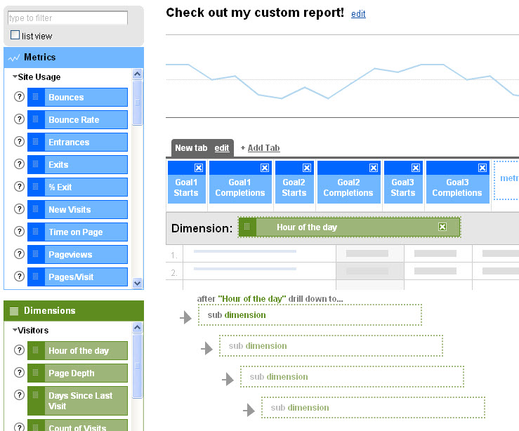 Custom Reports Screen Shot