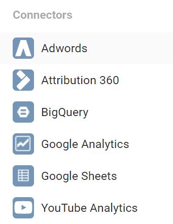 Data Studio Screenshot from Google