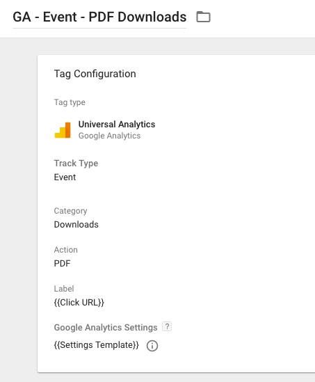How To Use the Google Analytics Settings Variable in GTM | Bounteous