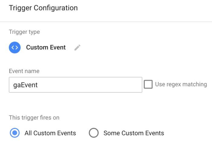 generic event trigger