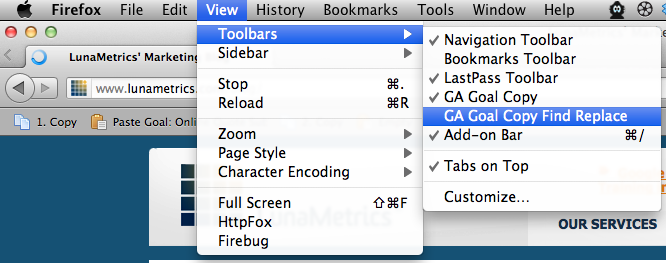 GoalCopy Updated for Firefox 7 | Firefox Plugins 2011 | Bounteous