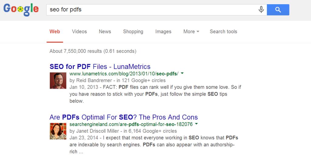 google authorship photos