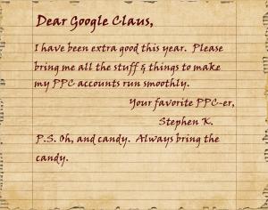 Google AdWords Wishlist